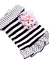 Stripe Design Pink Bunny Dress for Dogs (XS-XL)