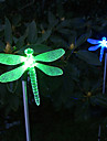 Couleur solaire Modification du style Dragonfly Light Garden Stake