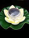 Colour Changing Floating Solar Lotus Flower Garden Pool Nightlight