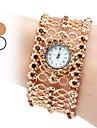 Femme Montre Tendance Montre Bracelet Bracelet de Montre Quartz Japonais Imitation de diamant Quartz Bande Etincelant Boheme Elegantes