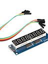 8 х семисегментных дисплеев модуль для (для Arduino) (595 водитель)