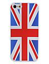 britânico da bandeira nacional padrão caso macio para o iphone 5/5s