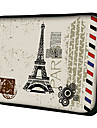 Bolsa de Laptop para  MacBook Air Pro/HP/DELL/Sony/Toshiba/Asus/Acer - Postal Paris
