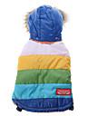 Cani Felpe con cappuccio / Abiti / Abbigliamento Blu Inverno Righe