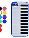 Мягкий чехол для iPhone 5 в стиле клавиатуры фортепиано  (цвета в ассортименте)
