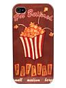 Popcorn Pattern Жесткий чехол для iPhone 4/4S