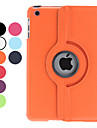 Lichee PU Leather Case w/ Rotating for iPad mini 3, iPad mini 2, iPad mini