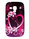 Hearted-Shaped Pattern Soft Case for Samsung Galaxy Trend Duos S7562