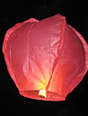 Herz-Form Fliegende Sky Wishing Lantern Kongming Light (Random Color)