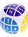 6cm Numeric Magic Ball Puzzle (White)