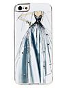 vestido de casamento caso difícil padrão para o iphone 5/5s