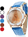 Women\'s Eiffel Tower Style PU Analog Quartz Wrist Watch (Assorted Colors)