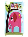 Caso elefante padrão rígido para iPod Touch 4