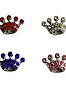 Dog tags Dogs Crown Shape Stylish Decoration Charm for DIY Collar (Assorted Color)