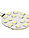 3W G4 LED Doppel-Pin Leuchten 15 SMD 5050 210 lm Natuerliches Weiss DC 12 V