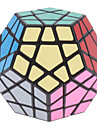 Shengshou dodecaedro 12 cores Megaminx Magic Cube (Black Base)