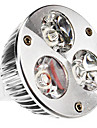 GU5.3 W 3 High Power LED 240 LM Warm White MR16 Spot Lights DC 12 V
