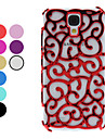 Hollow-Out Flower Pattern Hard Case for Samsung Galaxy S4 I9500 (Assorted Colors)