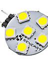 G4 1W 6x5050SMD 70-75LM 6000-6500K Природные Белый свет светодиодный спот лампа (12)