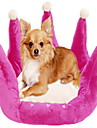 Graceful Crown Shape Dog Bed 45x45cm (blandade färger)