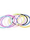 Браслеты Браслеты Дружбы Силикон Любовь Повседневные / Спорт Бижутерия Подарок1 комплект
