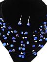 Bijoux-Colliers décoratifs / Boucles d'oreille(Acrylique)Mariage Cadeaux de mariage
