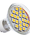 GU10 5 W 24 SMD 5050 360 LM 2700K K Warm wit MR16 Spotjes AC 220-240 V