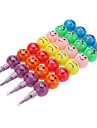 4шт 11 цвет лица улыбки стиль Съемная Crayon