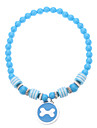 Necklaces for Dogs Blue / Pink Spring/Fall S / M / L Plastic