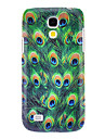 Para Samsung Galaxy Capinhas Case Tampa Estampada Capa Traseira Capinha Animal PC para Samsung Galaxy S4 Mini