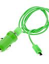 Verde Micro USB Charger Cable para Samsung, HTC e Outros (cores sortidas)
