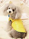 Dog Coat / Clothes/Clothing Blue / Pink / Gray Winter Polka Dots