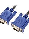 15 PIN SVGA VGA монитор M / M шнуров и кабелей для PC TV (1,5)