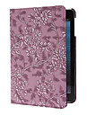 Rotatable Grape and Flower Embossed Case for iPad mini 3, iPad mini 2, iPad mini (Assorted Colors)