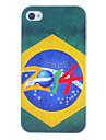 2014 Brésilien cas dur de modèle de Football pour iPhone 4/4S