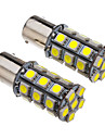 1156 4W 27x5050SMD 330-360LM 6000-6500K Luz Cool White LED Bulb para carro (12V)