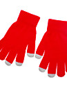 Solid Color Red Screen Beruehren Handschuhe fuer iPhone, iPad und alle Touch-Screen-Geraete