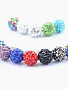 Joyland Diamond-Studded Ball Anti-Dust Earphone Jack (Assorted Color)