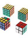 NEW ensemble de shengshou 2x2, 3x3 et 4x4 5x5 noir torsion casse-tete Printemps Speed ​​Magic Cube