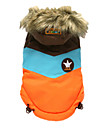 Dog Coat / Hoodie Pink / Orange Winter Tiaras & Crowns