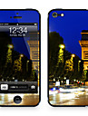 """Da Code ™ Skin for iPhone 5/5S: """"Champs Elysee at Night"""" (City Series)"""