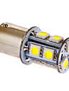 BA15S/1156 3W 13x5050SMD 117LM 6000-7000K Cool White Light LED Bulb for Car (DC 12V)