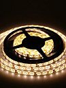 5M 300X3528 Smd Warm White Led Strip Light and Connector and Ac110-240V to Dc12V3A Transformer