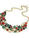 Necklace Statement Necklaces Jewelry Daily / Casual Fashion Alloy Gold 1pc Gift
