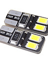 T10 1.5W 4x5730SMD 27LM 5500-6000K Cool White LED Bulb for Car (12V)