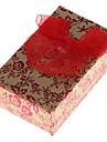 Коробки для бижутерии Бумага Красный