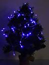 4M 3W 40-LED 210LM Blue Light LED Strip Light for Christmas Decorations