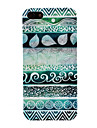Green Tones Waves Pattern PC Hard Case for iPhone 5/5S