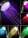 Debit d\'eau Power Generation Couleur Changement progressif douche a main LED