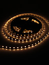 5M 60W 60x5050SMD 3000-3600LM 2800-3200K Warm White Light LED Strip Light med 12V 5A adapter